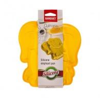 BANQUET Silikonová forma slon 19x19,6x4,4 cm Culinaria yellow