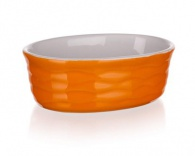 BANQUET Zapékací forma oválná 12,5x8,5cm Culinaria Orange