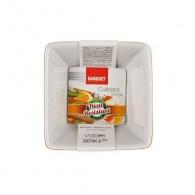 BANQUET Zapékací forma čtvercová 9,5x9,5cm Culinaria Orange