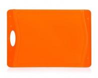 BANQUET Prkénko krájecí plastové 37x25,5 cm DUO Orange
