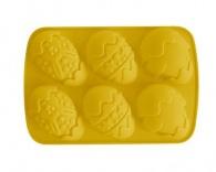 BANQUET Silikonová forma na 6 velikonočních vajec