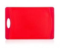 BANQUET Prkénko krájecí plastové 29x19,5x0,85 cm DUO Red