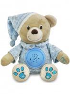 Plyšový medvedík s projektorom Baby Mix modrý BABY MIX