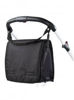Taška na kočík s prebaľovacou podložkou CARETERO black CARETERO