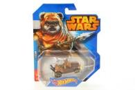 Hot Wheels Star Wars autíčko  CGW35 - Wicket
