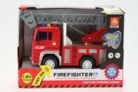 Požární auto baterie