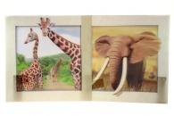 Dekorace Safari 3D
