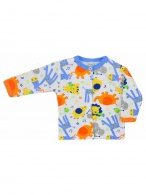 Dojčenský kabátik Bobas Fashion Zoo modrý BOBAS FASHION