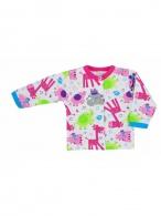 Dojčenský kabátik Bobas Fashion Zoo ružový BOBAS FASHION