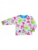 Dojčenský kabátik Bobas Fashion Zoo tyrkysový BOBAS FASHION