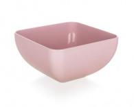 BANQUET Miska plastová CULINARIA 11 x 11 x 6,3 cm, 0,5 l, růžová