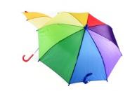 Duhový deštník 4 barvy manuál