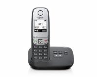 GIGASET-A415A Gigaset - DECT/GAP bezdrátový telefon, barva černá, se záznamníkem