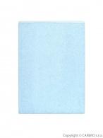 Nepremokavá podložka Akuku froté 110x60 svetlo modrá AKUKU