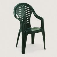 Plastová zahradní židle Oceán zelená