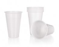 BANQUET Kelímky plastové MY PARTY 200 ml, bílé, 12 ks