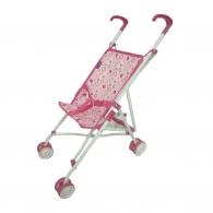 Detský golfový kočík pre bábiky ružový BABY MIX