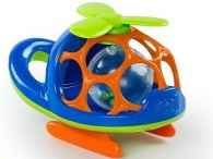 BRIGHT STARTS Oball helikoptéra O-Copter modrá
