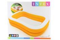 INTEX Bazén žlutý 229 x 147 x 46 cm 57181
