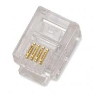 Konektor RJ11 6p4c bal.100ks