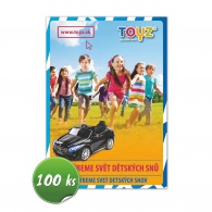 Propagačné materiály Toyz balenie-50 ks CARERO