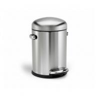 Retro pedálový odpadkový koš - 4.5 l