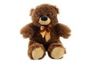 Plyš Medvěd tmavý menší 35 cm