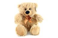 Plyš Medvěd světlý menší 35 cm