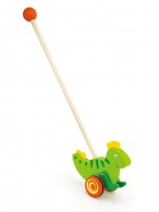 Drevená jazdiaca hračka Viga dinosaurus Viga