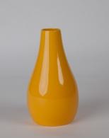 Váza Drop žlutá 25