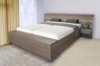 Luxusní postel Salina s úložným boxem u nohou