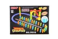 Kuličková dráha s dominem