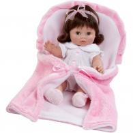 Luxusná detská bábika-bábätko Berbesa Magdalena 35cm Berbesa