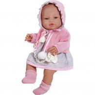 Luxusná detská bábika-bábätko Berbesa Amanda 43cm Berbesa