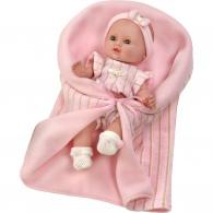 Luxusná detská bábika-bábätko Berbesa Sandra 35cm Berbesa