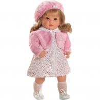 Luxusná hovoriaca detská bábika-dievčatko Berbesa Angelica 45cm Berbesa