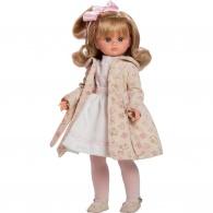 Luxusná detská bábika-dievčatko Berbesa Flora 42cm Berbesa