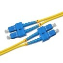 Duplexní kabel 9/125, SC-SC, 0,5m