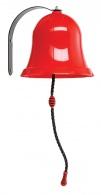 Červený kovový zvon