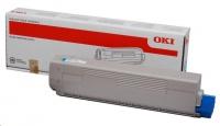 OKI Cyan toner do C822 (7 300 stránek)