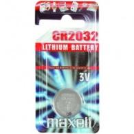 MAXELL-CR-2032 Maxell - CR 2032 knoflíková lithiová baterie 3V (1 ks v blisteru)