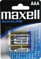LR03/4BP-M Maxell - AAA alkalická mikrotužková baterie LR03/4BP (cena za 1ks/baleno po 4 ks v blisteru)