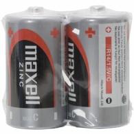 R14/2BP-M Maxell - monočlánek malý R14, Zn baterie (cena za 1ks/baleno po 2 ks ve folii)