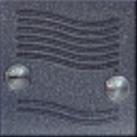 4FN23097.2 Tesla - KARAT 2-BUS Modul zvonkové tablo elektrický vrátný bez tlačítka stříbrný