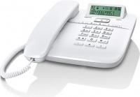 GIGASET-DA610-WHITE Gigaset - standardní telefon s displejem, barva bílá