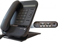 3MG27038AA ALCATEL-LUCENT 8012 DeskPhone - with high audio quality. 3.5mm headset jack, 10/100/1000, PoE