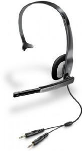 AUDIO 310 Plantronics - náhlavní souprava pro PC, spona přes hlavu, na jedno ucho, 2x 3,5 mm konektor
