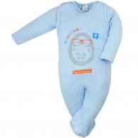 Dojčenská súprava Hedgehog Amma modrá AMMA