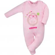Dojčenská súprava Hedgehog Amma ružová AMMA