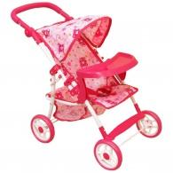 Športový kočík pre bábiky Baby Mix ružový BABY MIX